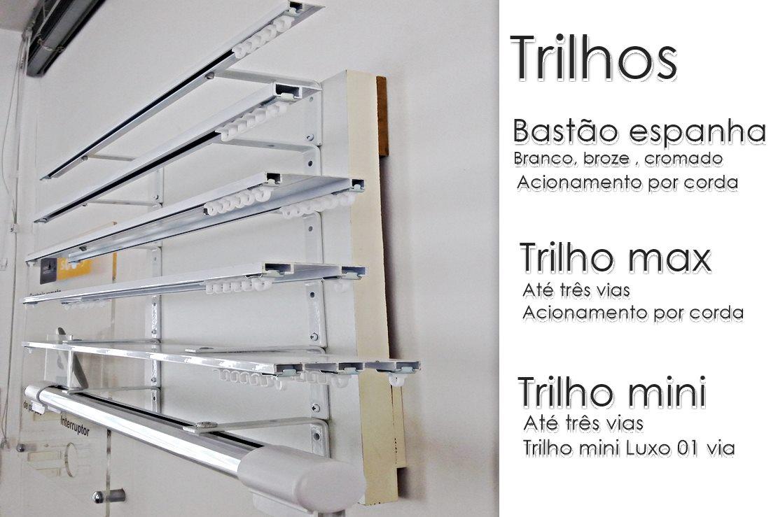 Trilhos persiplus persianas e cortinas - Tipos de persianas de aluminio ...